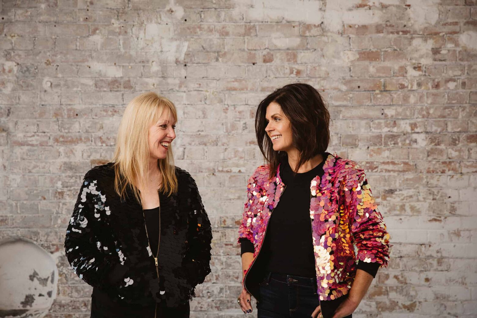 Victoria Swift and Sandra Ewart of V.S. Creative - producers of bespoke events