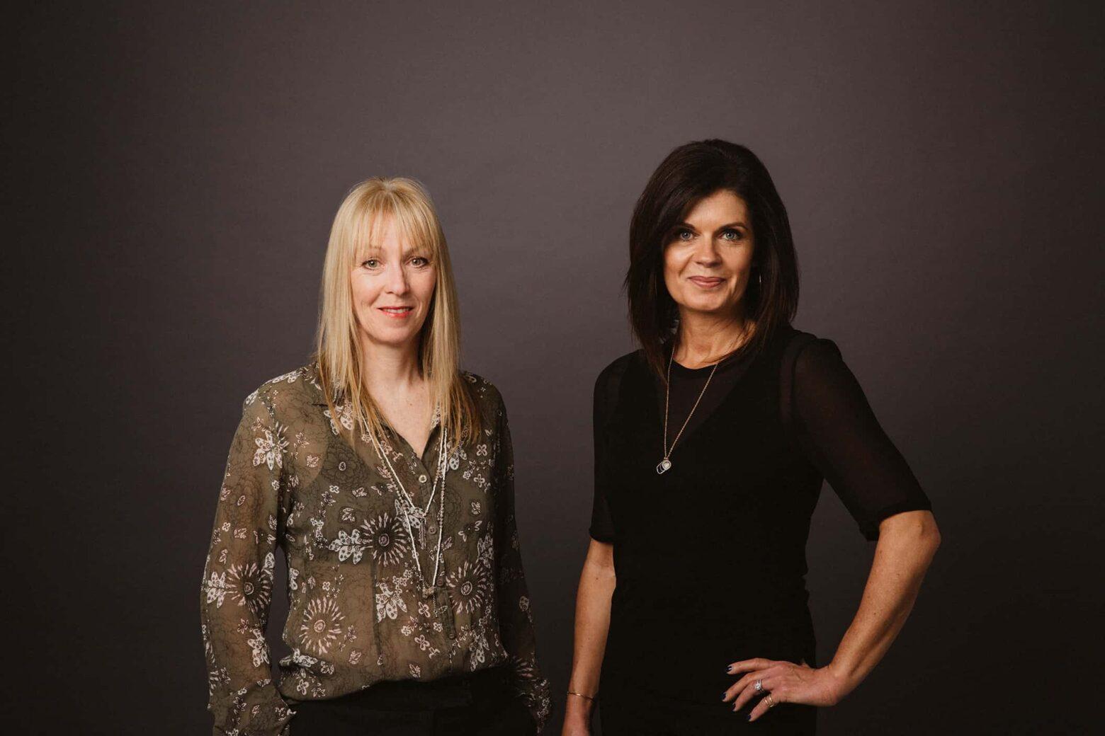 Victoria Swift and Sandra Ewart of V.S. Creative