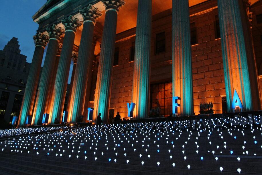 Tribeca Exterior steps event company