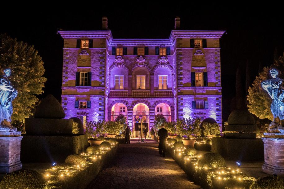 Villa Cetinale exterior event management